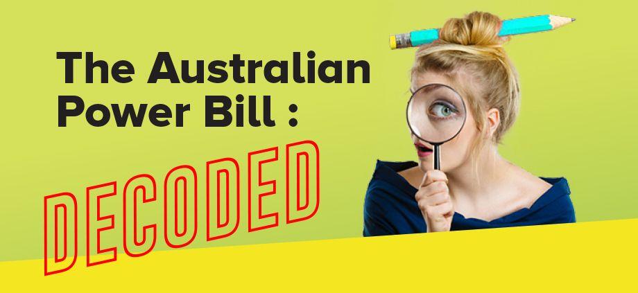 understanding your power bill 2 1