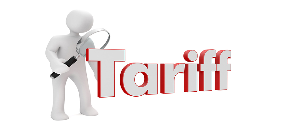 Tariffs are important to consider when choosing an electricity provider