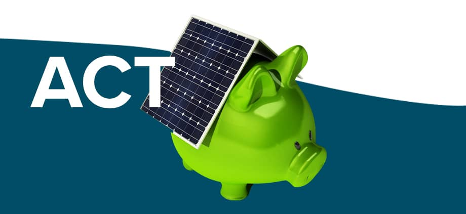The Best solar feed-in tariffs in ACT!